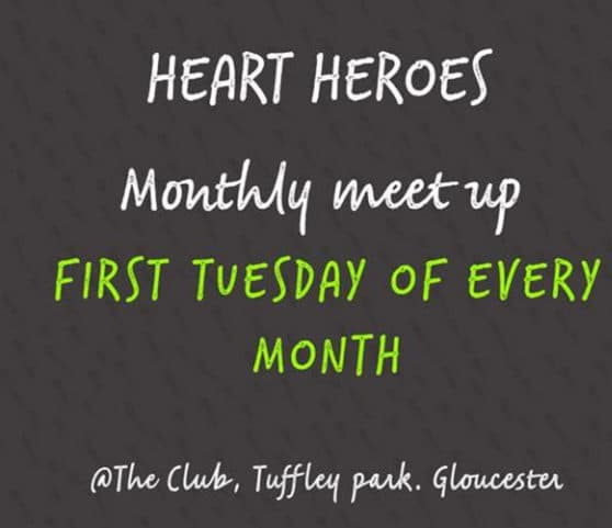 Heart heroes monthly meetup