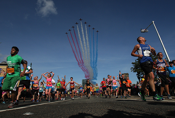 The official'Virtual Great North Run