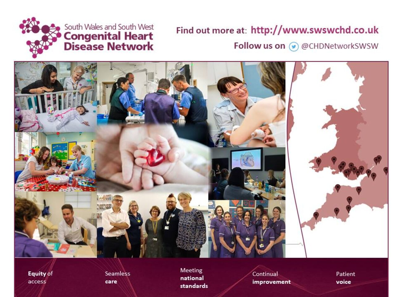 South Wales and South West Congenital Heart Disease Network
