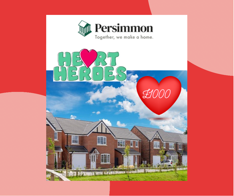 Amazing support from Persimmon